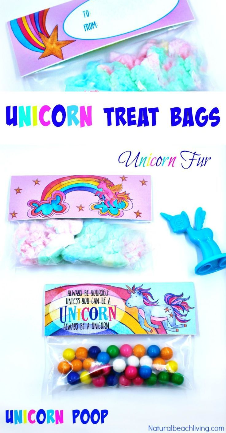 Unicorn Treat Bags that Make the Perfect Goodie Bag Ideas ...