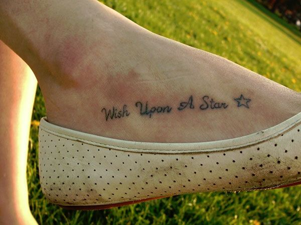 1ae5f6cc0 25 Refined Foot Tattoos Quotes | Tattoo wants | Foot tattoo quotes ...