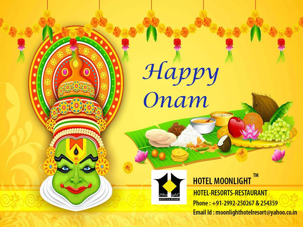 Happy onam greetings from hotel moonlight pinterest moonlight wish you and your family a happy and colourful onam kristyandbryce Image collections