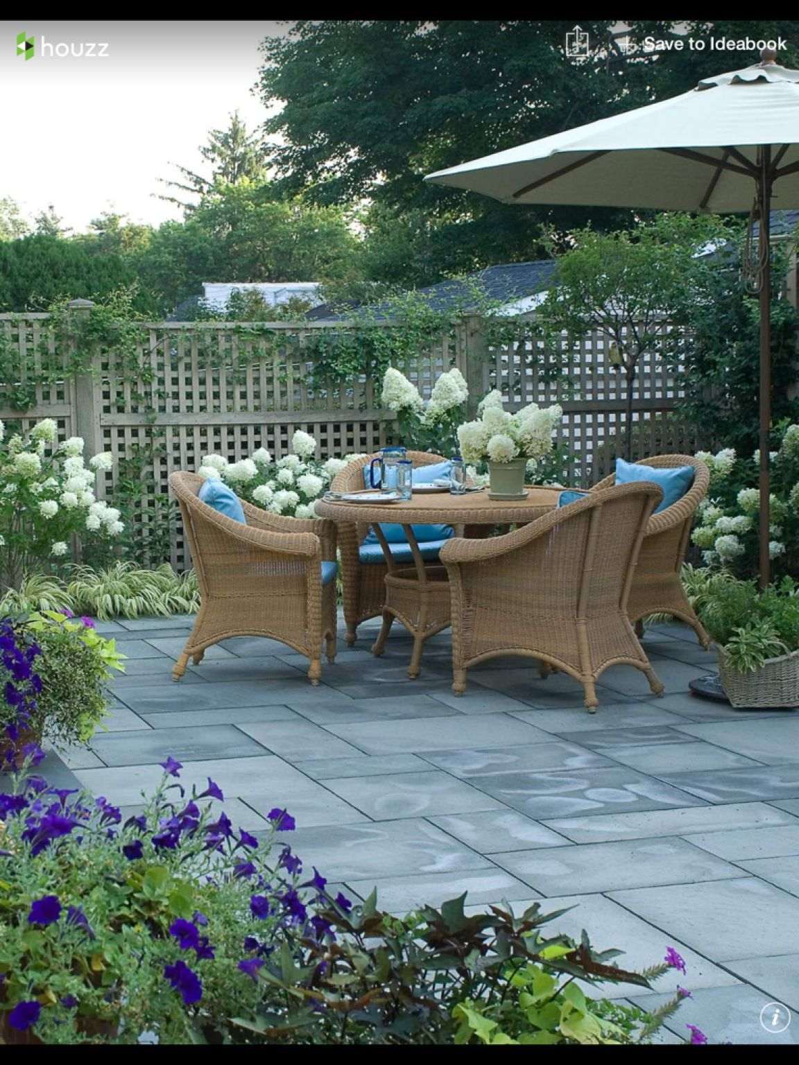 How Much Does A Fence Cost? | Patio garden, Small backyard ...