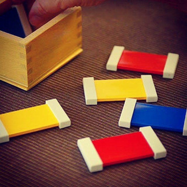 The First Color Box used in the primary classroom is a great tool for your child to learn about red yellow and blue by isolating them.  Find out how this simple activity assists with their rapidly-expanding visual and cognitive skills. Video link in profileNurture Your Child's Full Potential.  . . . . . . . #children #primary  #montessorischool #montessoriconsultant #independence #simplicity #naturalmaterial #nobatteries #montessori  #montessorichild #montessoriparent #montessoritoddler…