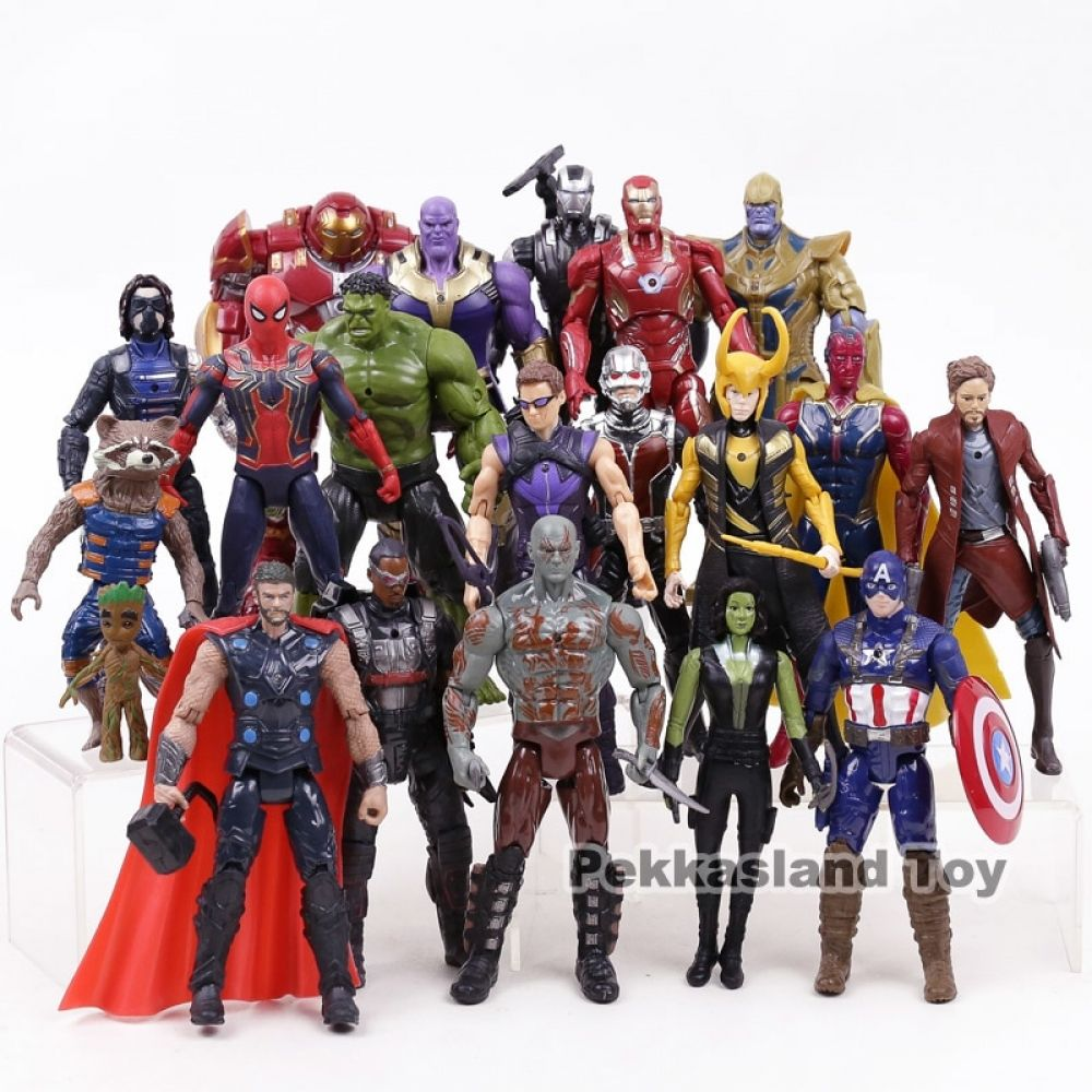 "7/"" Legends Avengers 3 Infinity War Hero Thanos Action Figures Gift Kids Toy"