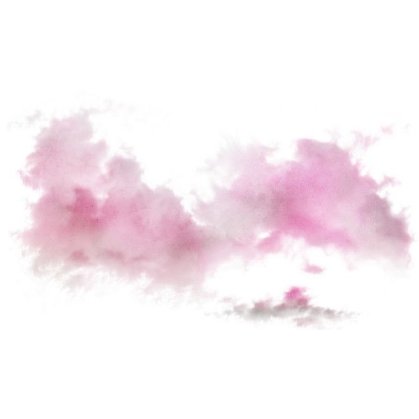 Pinklotty Bs Ep064 Png Liked On Polyvore Watercolor Clouds Overlays Transparent Unicorns Png