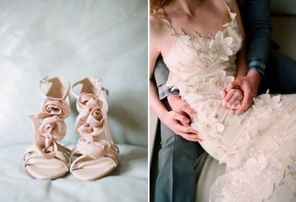 zapatos de novia para vestidos de novia con encajes | cosas para