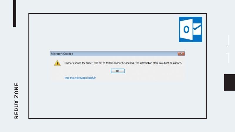 Fix Cannot Expand Folder Error In Outlook Outlook Windows Registry Outlook 2019