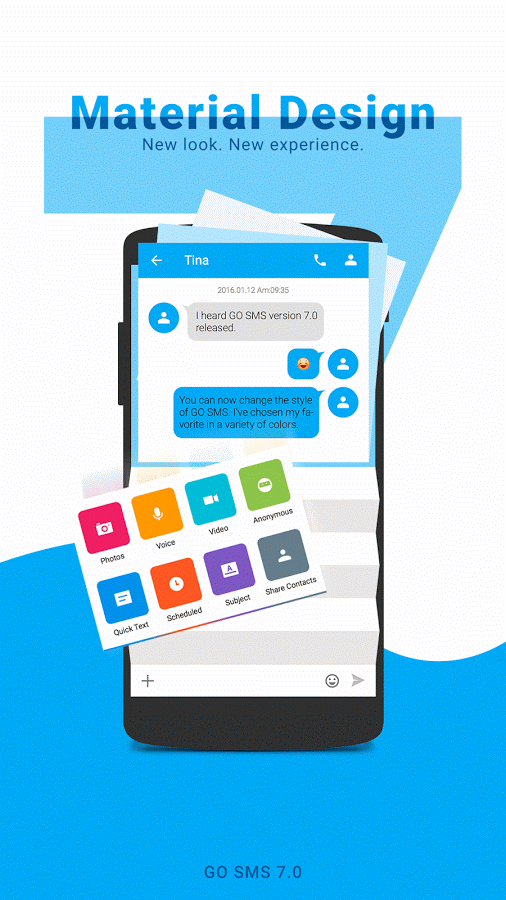 GO SMS Pro Premium 7.59 build 437 Cracked APK Download