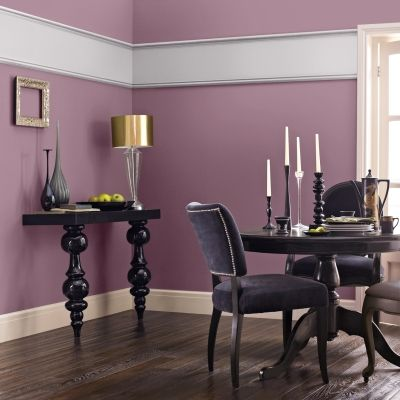 Another Great Purple Dining Room This Is Crown Indulgence