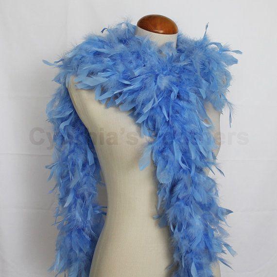 Baby Blue 65 Gram Chandelle Feather Boa 6 Feet Long Dancing Wedding Crafting Party Dress Up Halloween Costume Decoration Sku 8j42 Up Halloween Costumes Up Halloween Feather Boa
