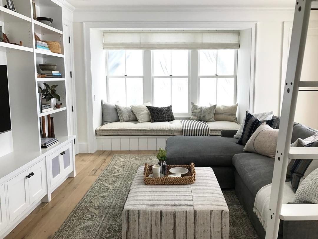 Love This Living Room Neutral And Full Of Texture