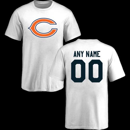 599a97b1e Youth Chicago Bears Design-Your-Own Short Sleeve Custom NFL T-Shirt ...