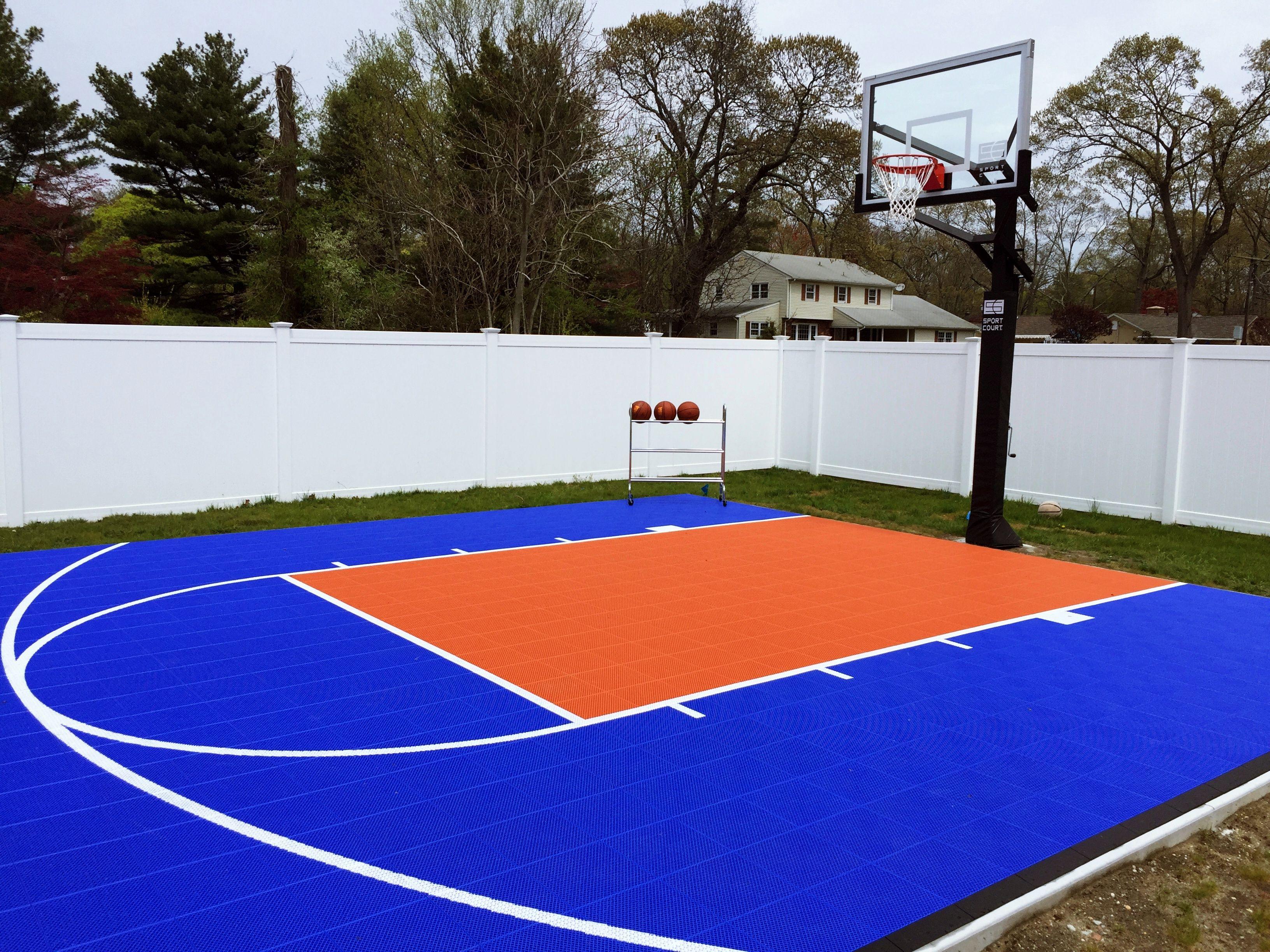 Outdoor residential Sport Court by SportProsUSA | Sport ...
