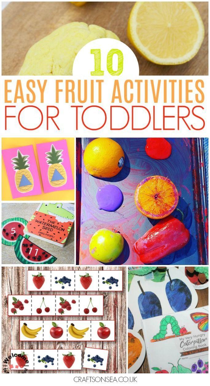 23 Fun Fruit Activities For Toddlers Toddler Activities Activities Nutrition Activities