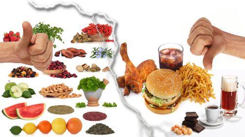 Заместете вредните храни с техни здравословни вариетети