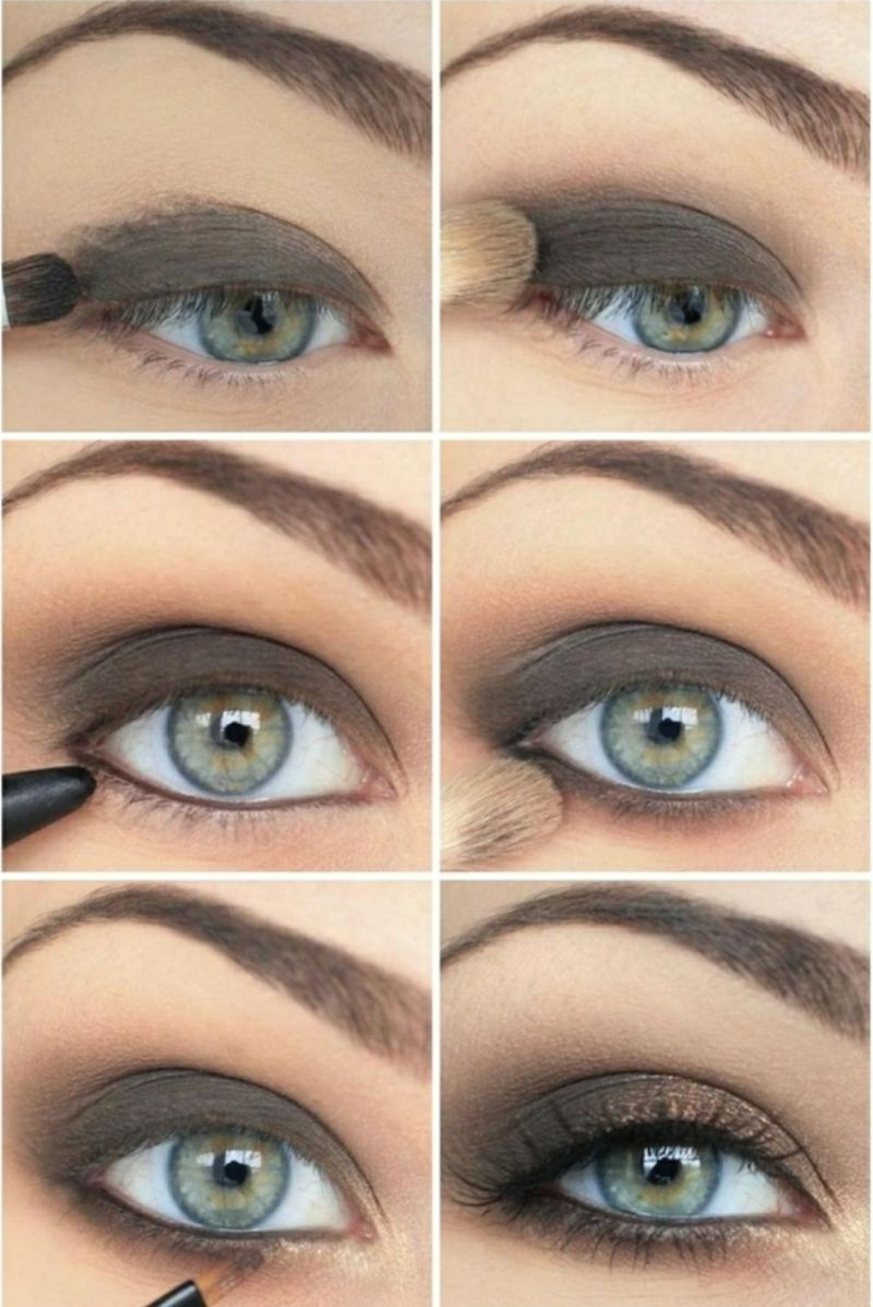 smokey eyes schminken bilderanleitung | cosmetics | pinterest | eye