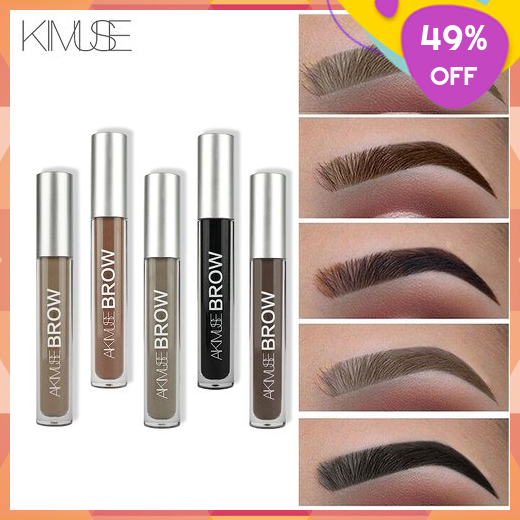 KIMUSE PencilShadow Cosmetic EyebrowGelCream Henna