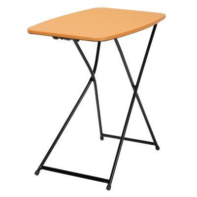 Indoor/Outdoor Adjustable Height Personal Folding Tailgate Table  2 Pack    37129BLK2E