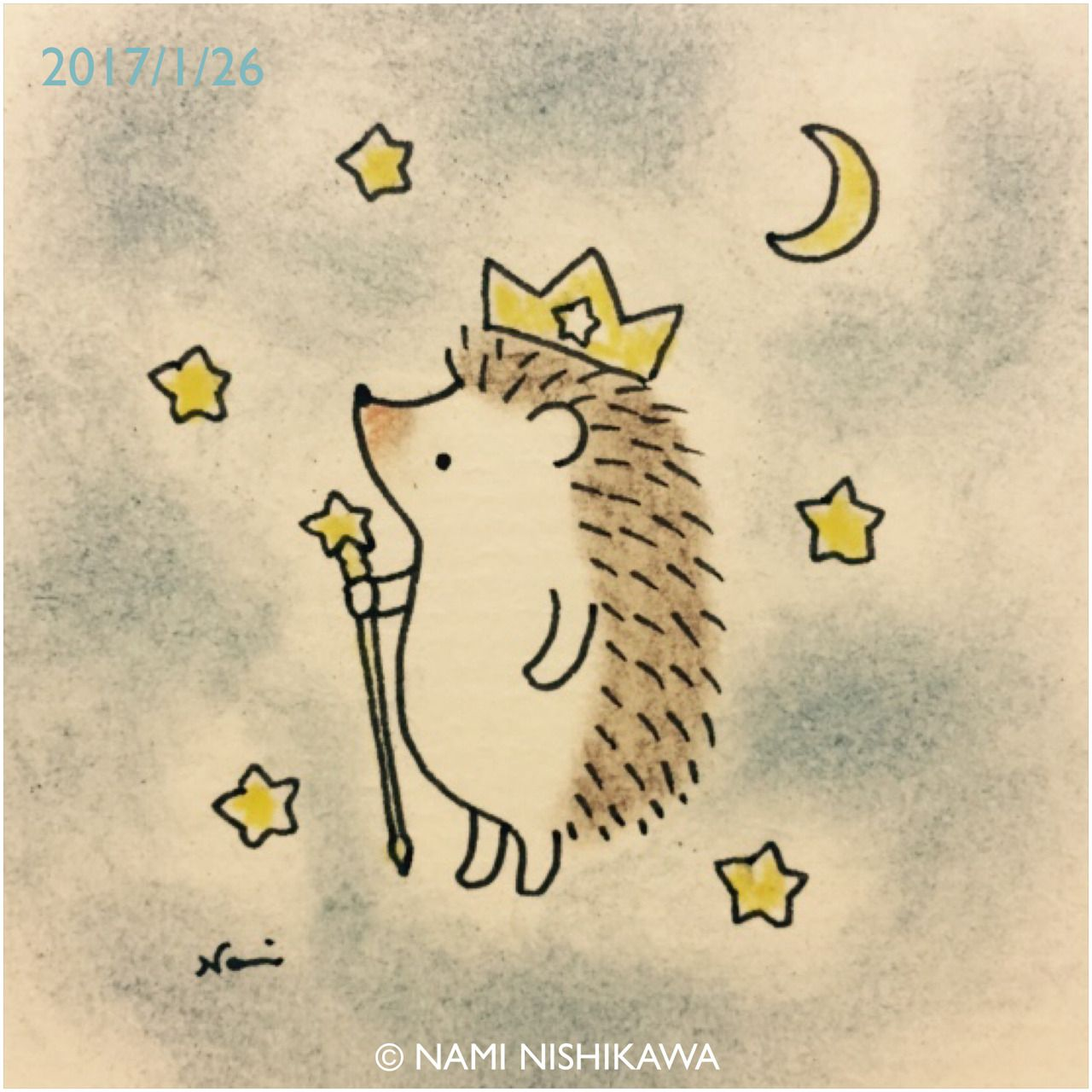 1104 星の王様 the king of stars | hedgehog | pinterest | ねずみ