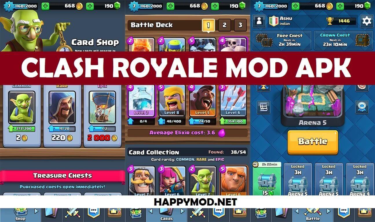 Clash Royale MOD APK Download Latest Version 2019 in 2020