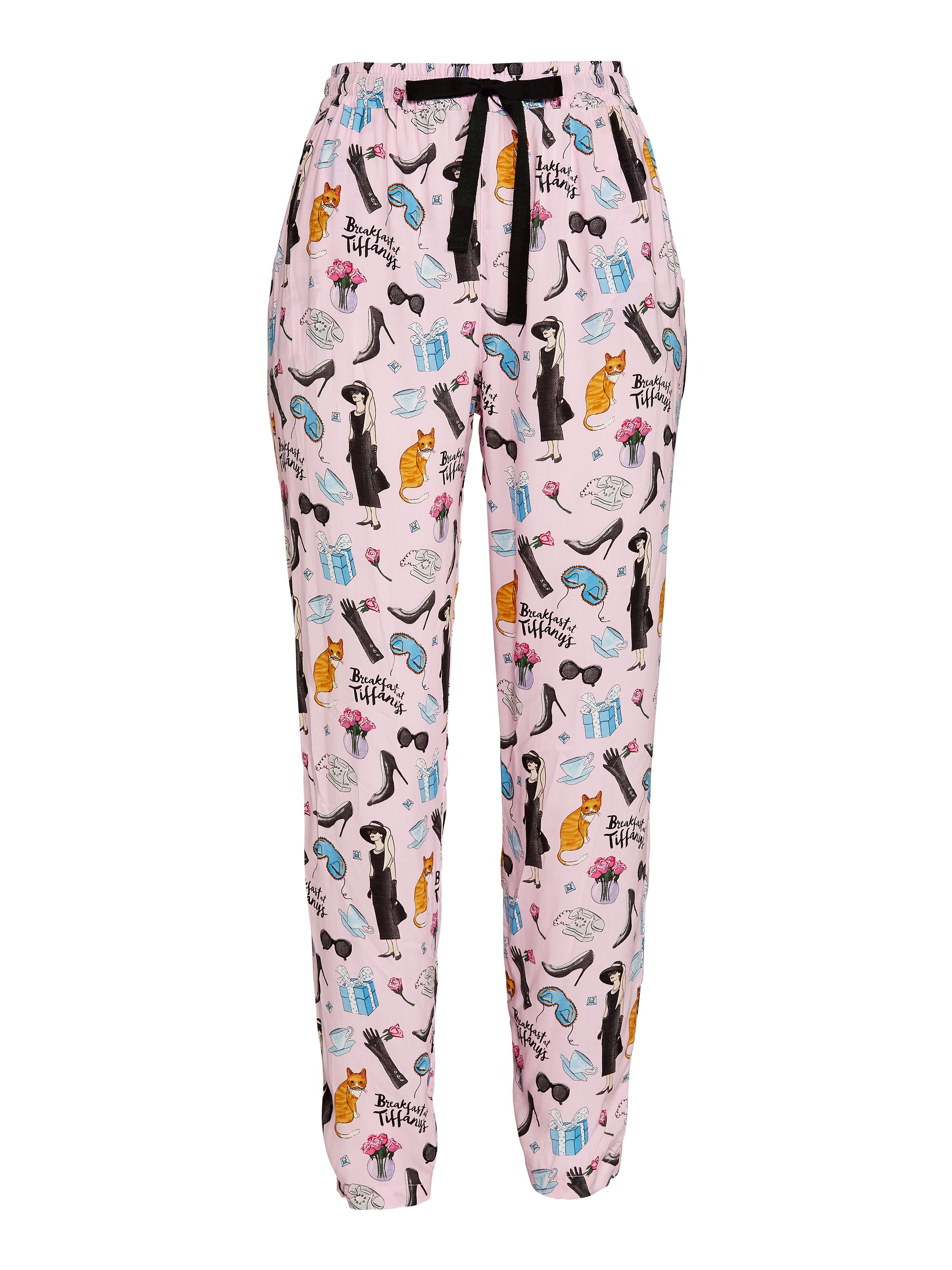 53678d0195a5 Breakfast At Tiffany s Tapered Pj Pant Multi - Peter Alexander Online