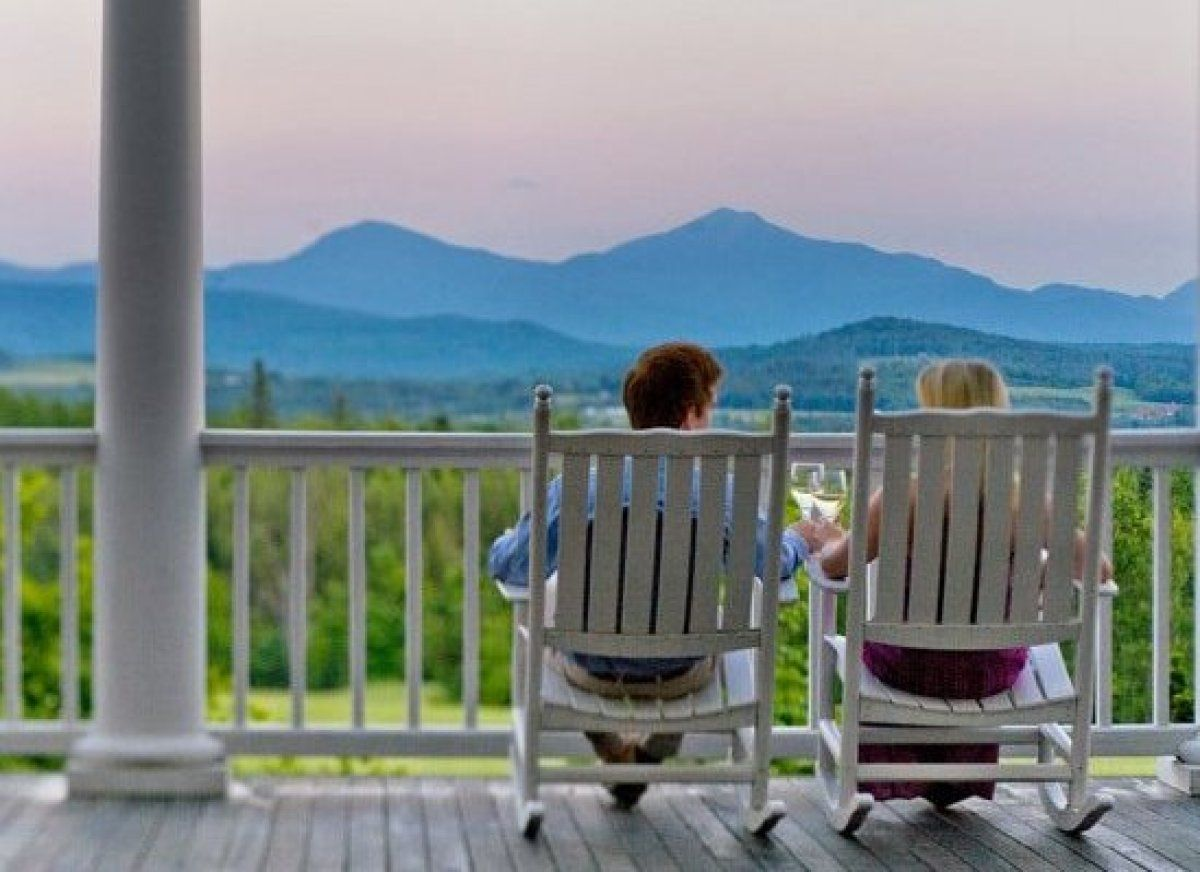 The Best Hotel Porches In America Harbor Viewmountain