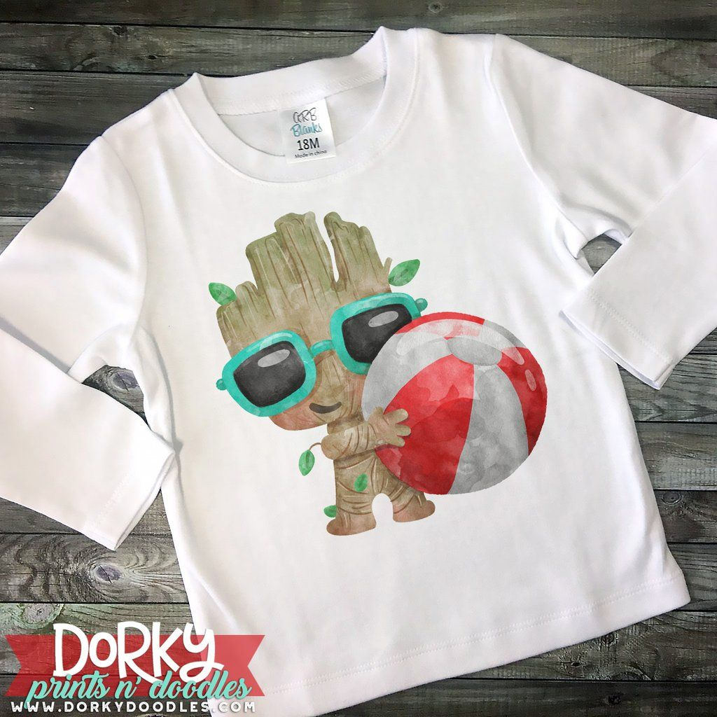 Tree Baby Watercolor Png Baby Baby Groot Heat Press