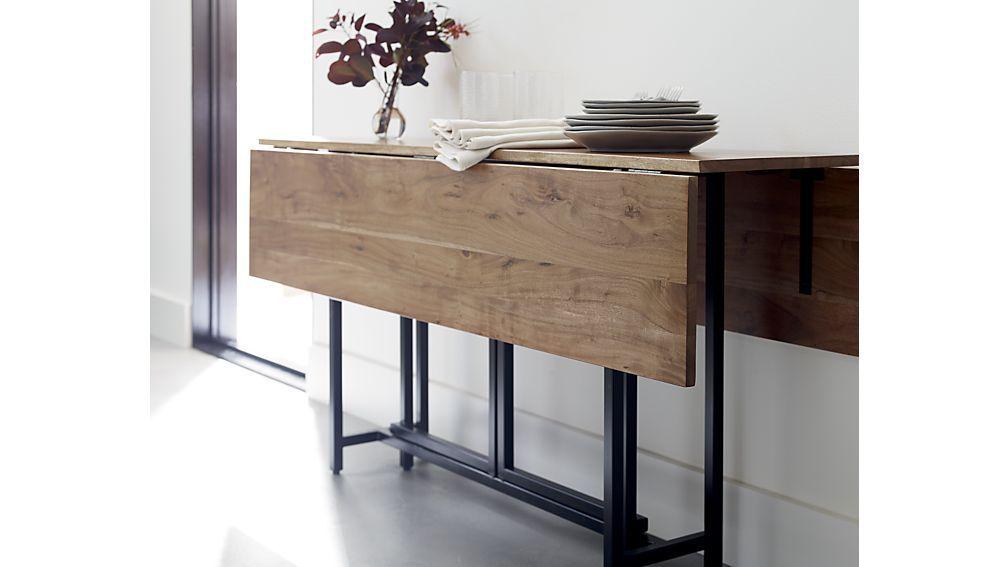 Drop Leaf Rectangular Dining Table