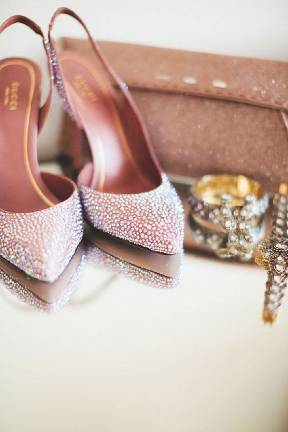 Gucci wedding shoes | Photo by First