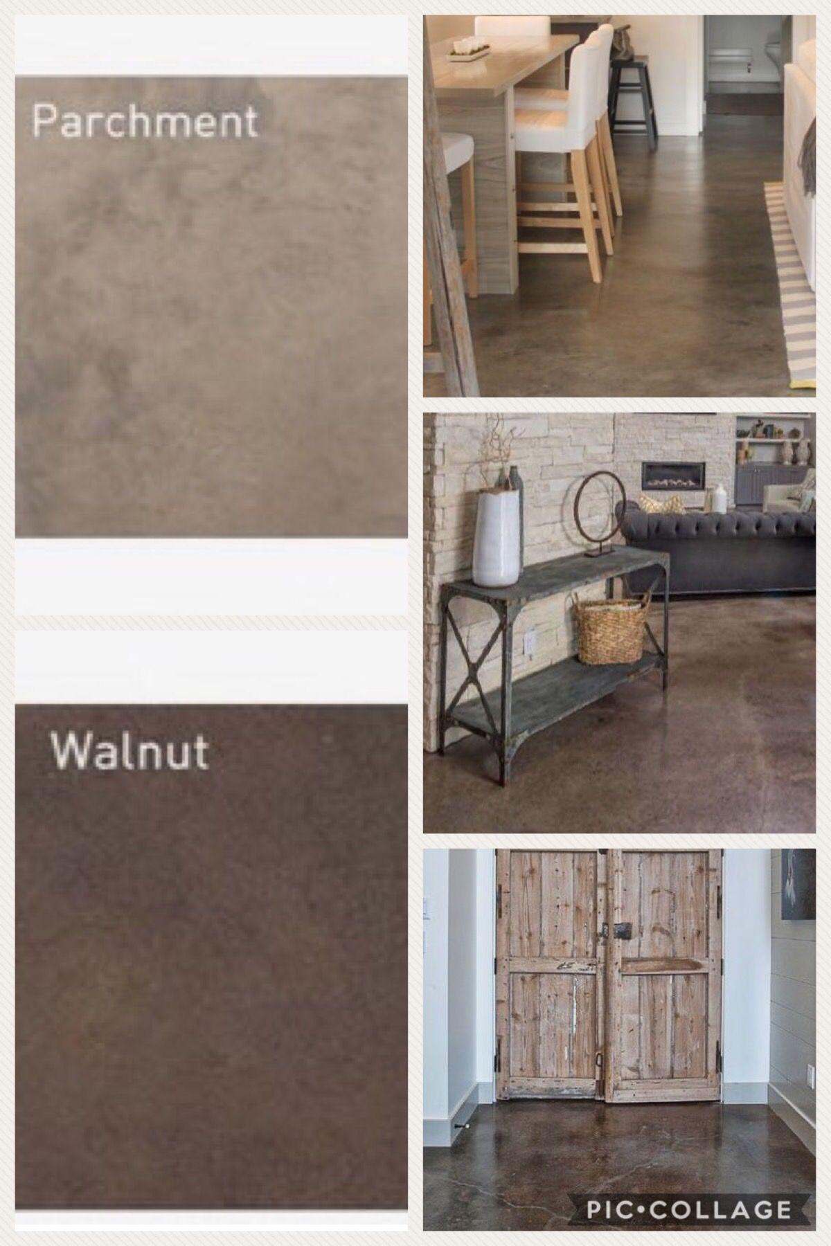 9 Popular Kitchen Floor Materials With Pros And Cons Concrete Floors Diy Concrete Floors Living Room Stained Concrete Floors Living Room