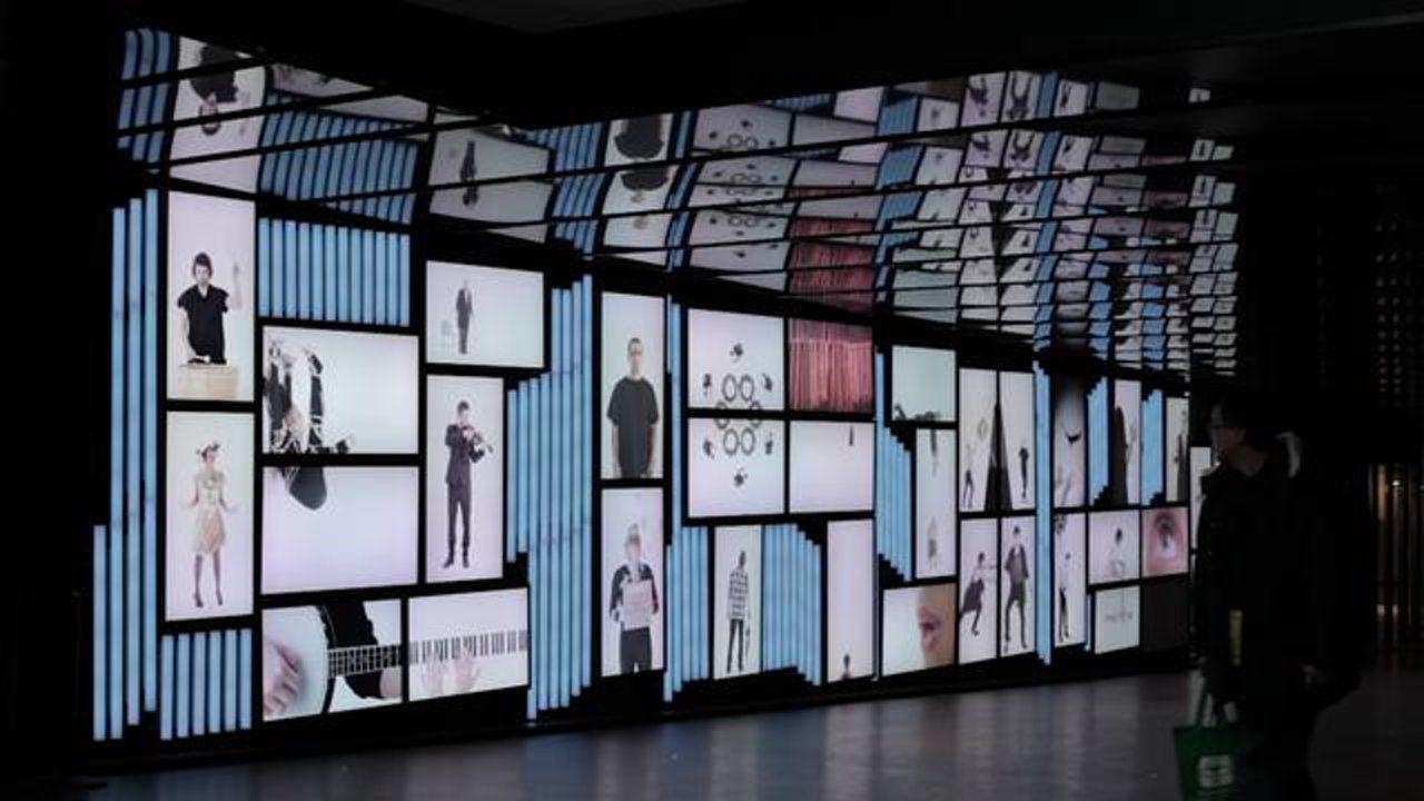 Place Des Arts Multi Media Installation Installation Art Projection Installation Technology Art