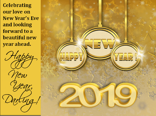 New Year 2019 Greeting Card Wishes Happy New Year Quotes Happy New Year 2019 Happy New Year Greetings