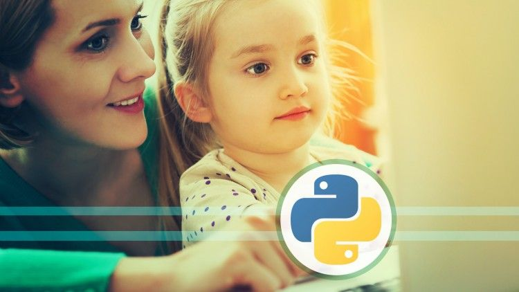 Kid learning Python