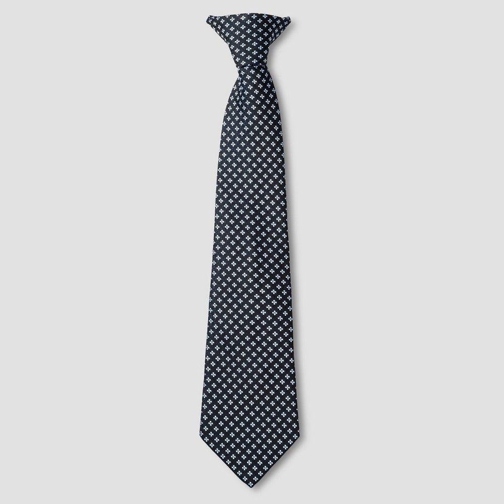 Boys' Necktie Cat & Jack - Blue Geo M, Boy's, Size: Medium