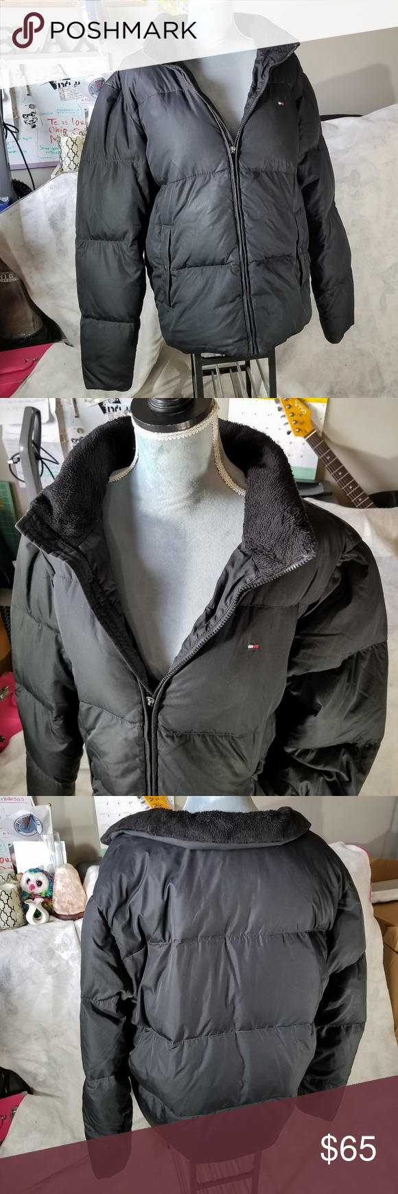 Tommy Hilfiger Down Feathers Winter Jacket Winter Jackets Tommy Hilfiger Clothes Design [ 1740 x 580 Pixel ]