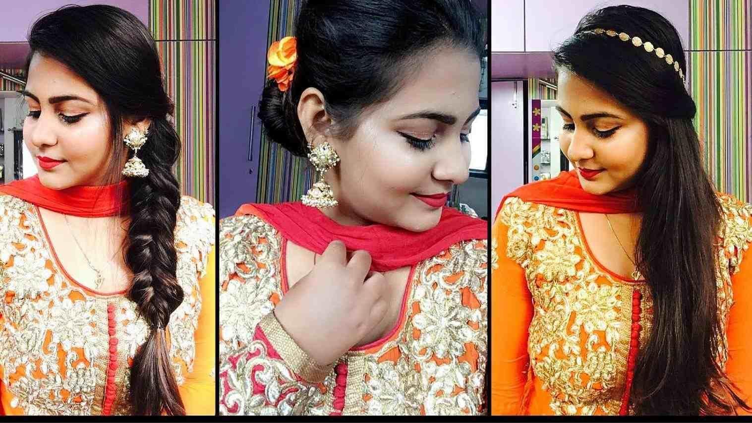 hair style in hindi for overlap bun – do it yourself