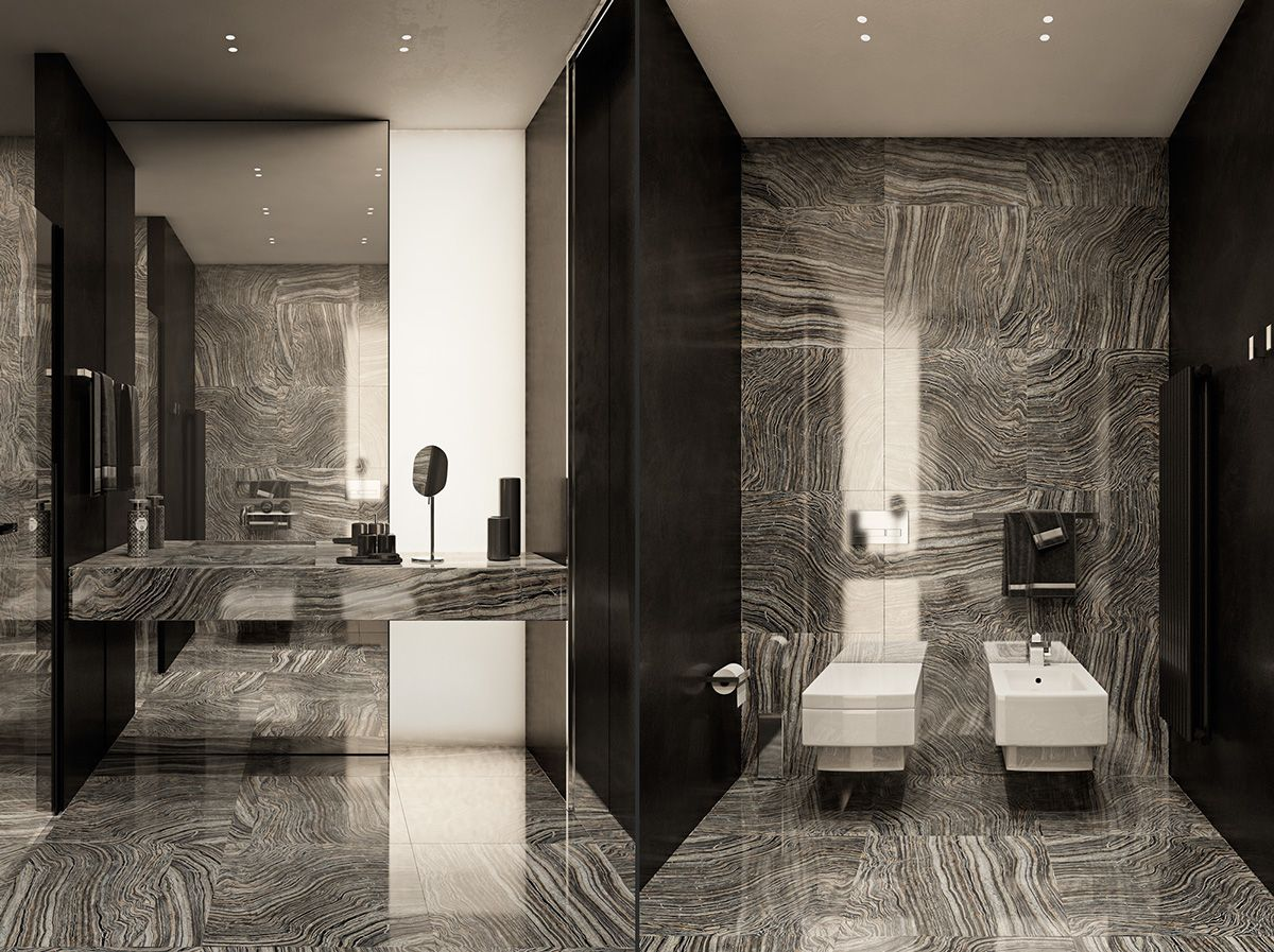 Applying modern bathroom decor with creative and perfect for Very modern bathrooms