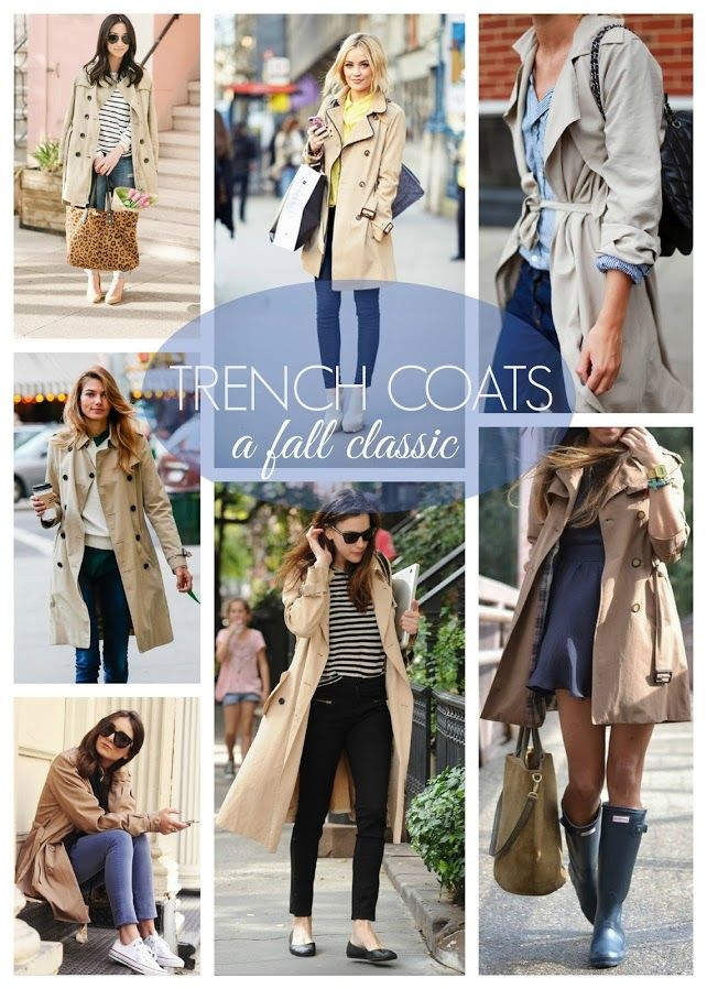 Trench Coats | A Fall Classic