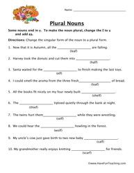 Plurals worksheet 2 plurals worksheets worksheets and for Bureau plural form
