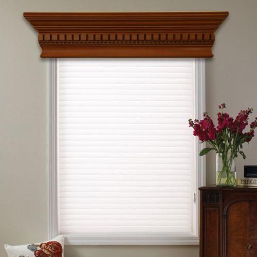 Wooden Cornice, Wood Cornice, Curtains