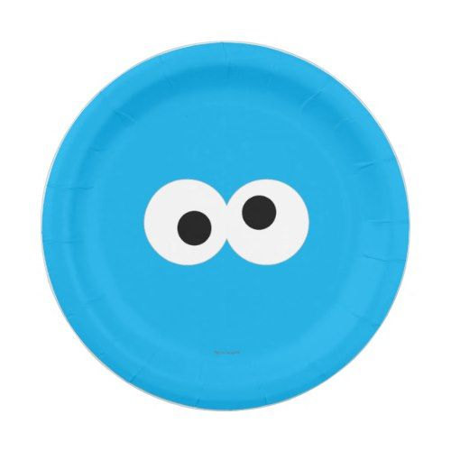 Cookie Monster Big Face Paper Plate  sc 1 st  Pinterest & Cookie Monster Big Face Paper Plate | Party Paper Plates | Pinterest ...