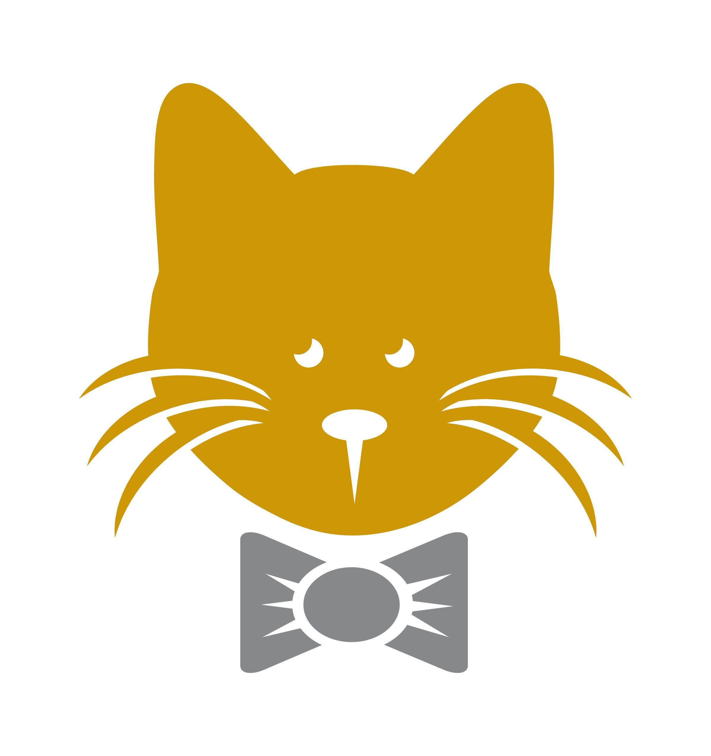 Картинки кот с логотипом