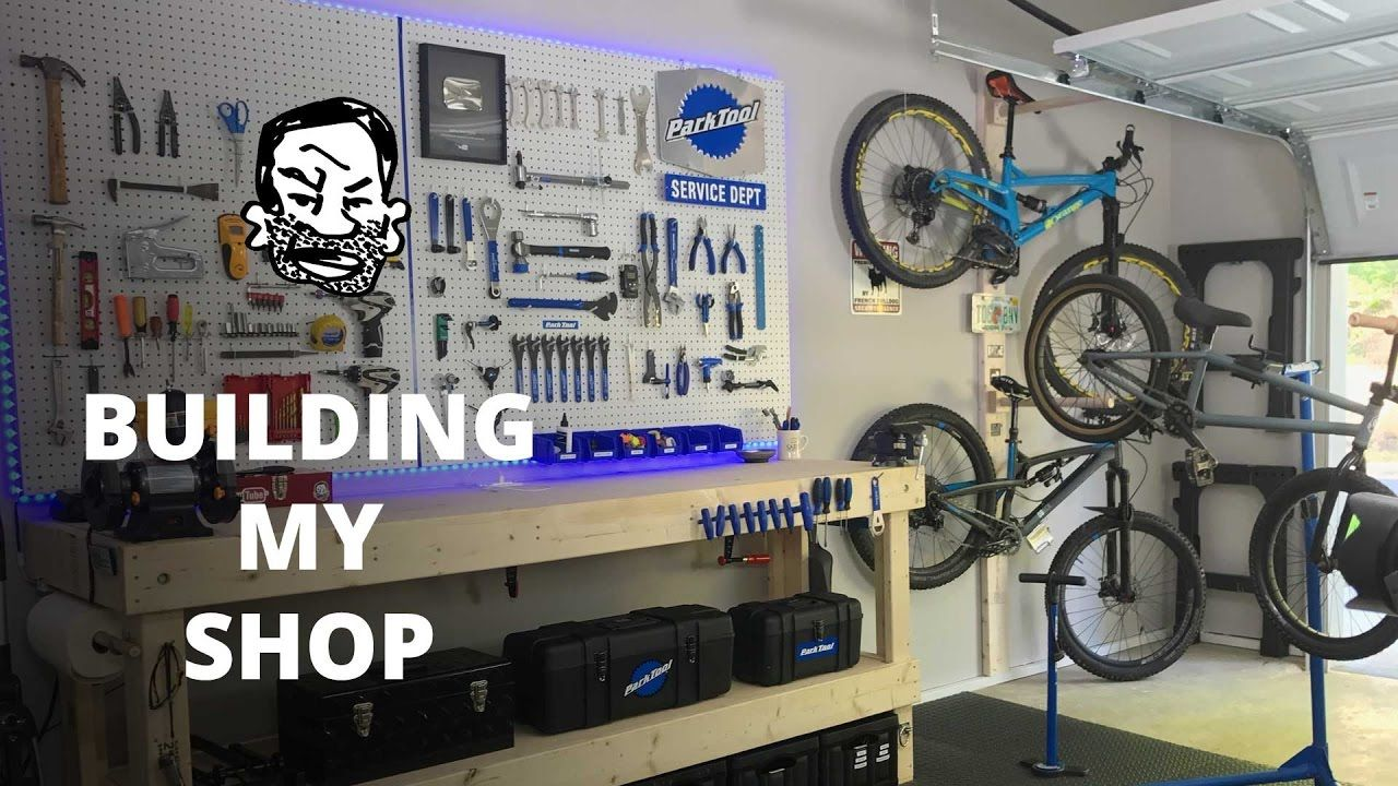 How To Build Your Own Bike Shop Bike Room Bike Storage Bike Shed
