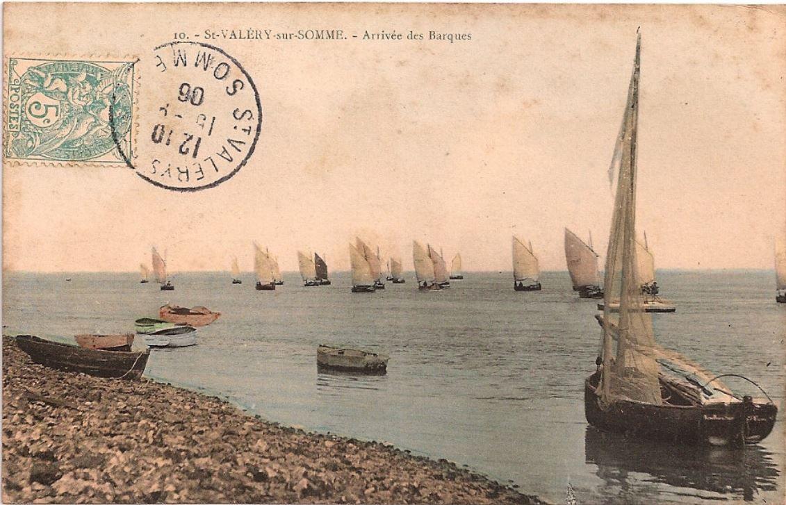 Saint-Valery-sur-Somme - Arrivée des barques