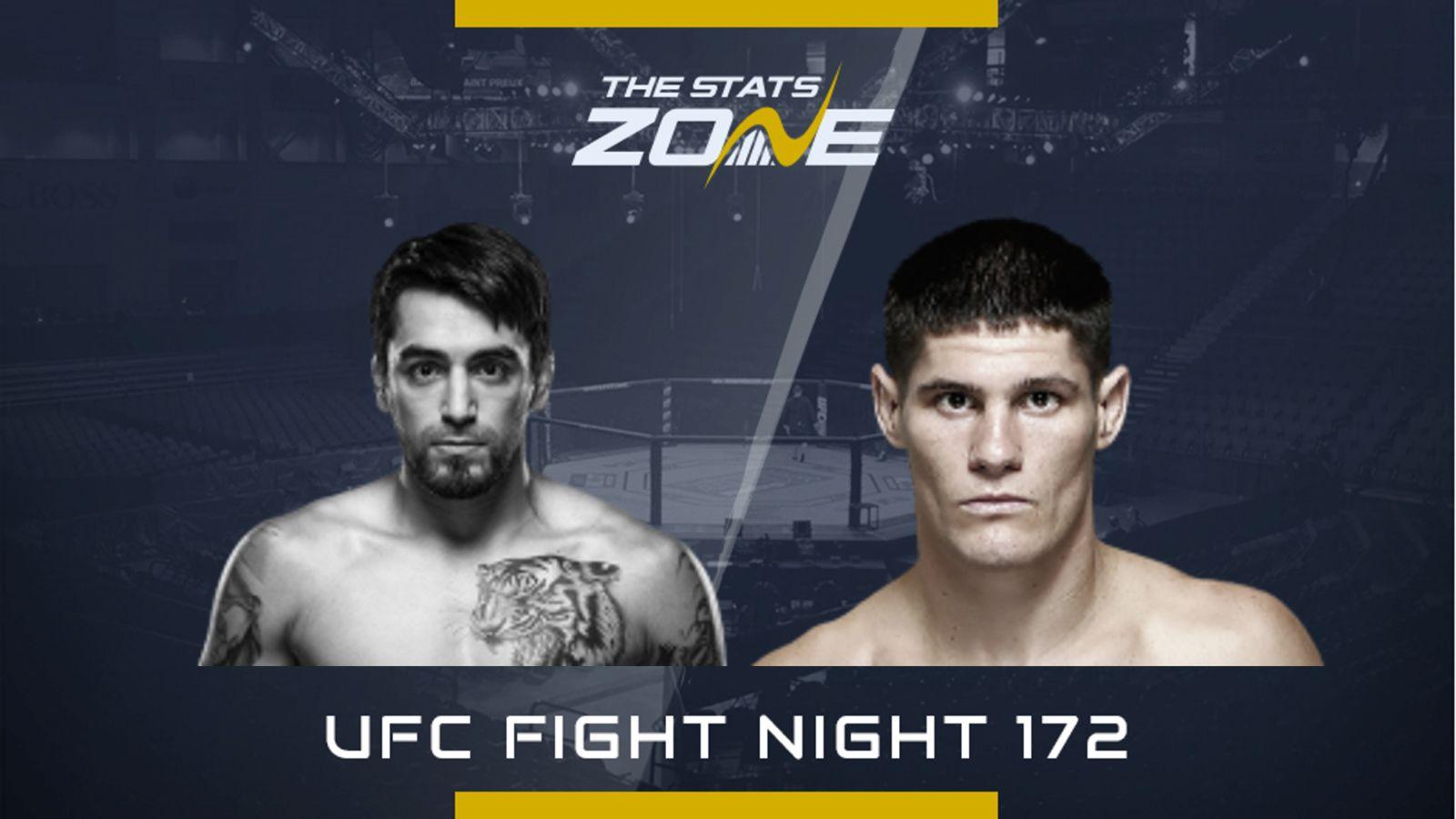 Ufc Fight Night 172 In 2020 Ufc Fight Night Ufc Mma Fighters