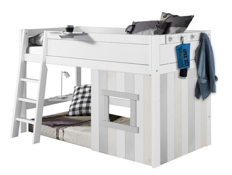 Lifetime halbhohes Hüttenbett 6178210 Betten für kinder