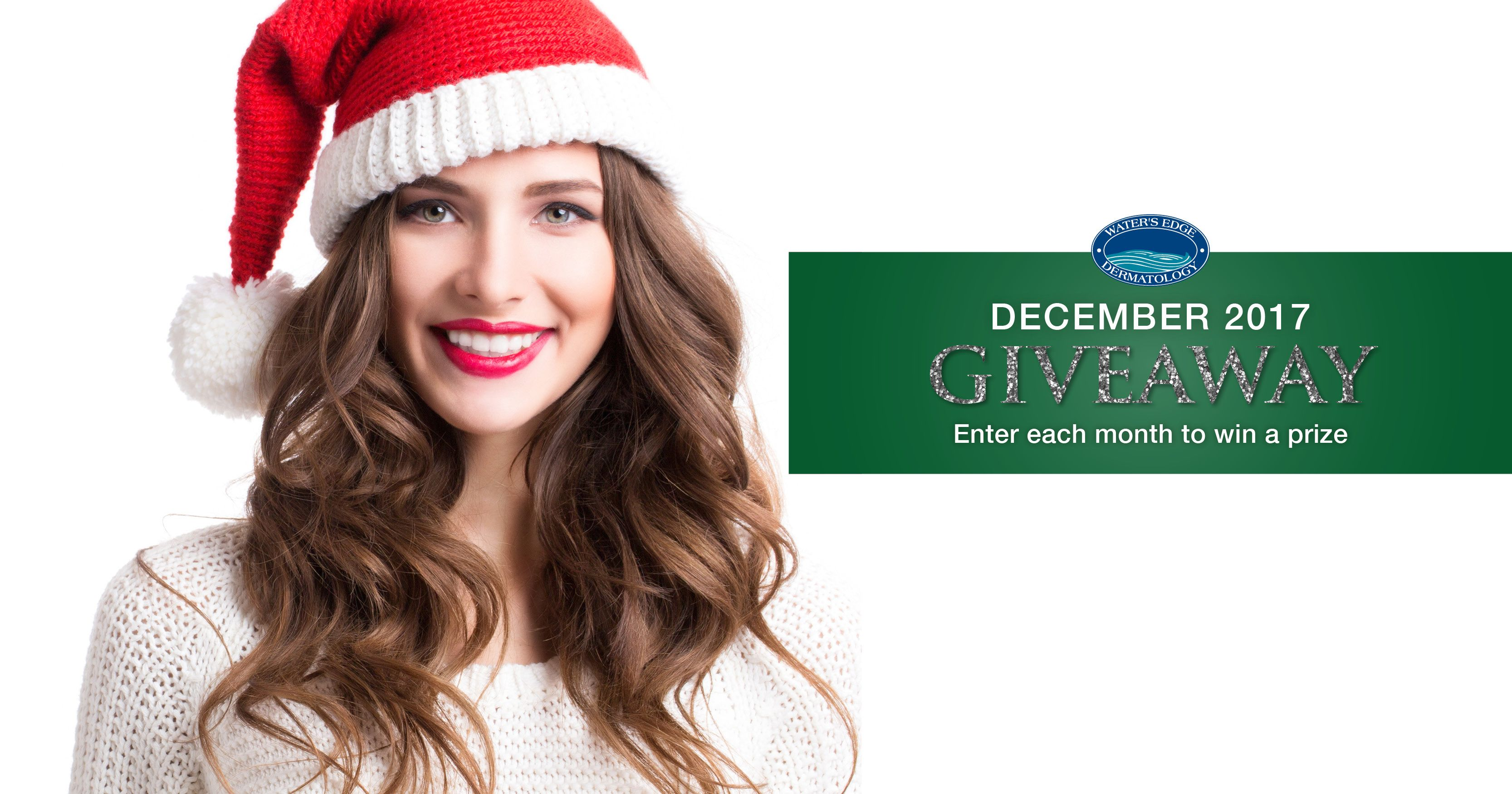 Happy Friday and Happy December! This month\'s lucky #WEderm #Contest ...