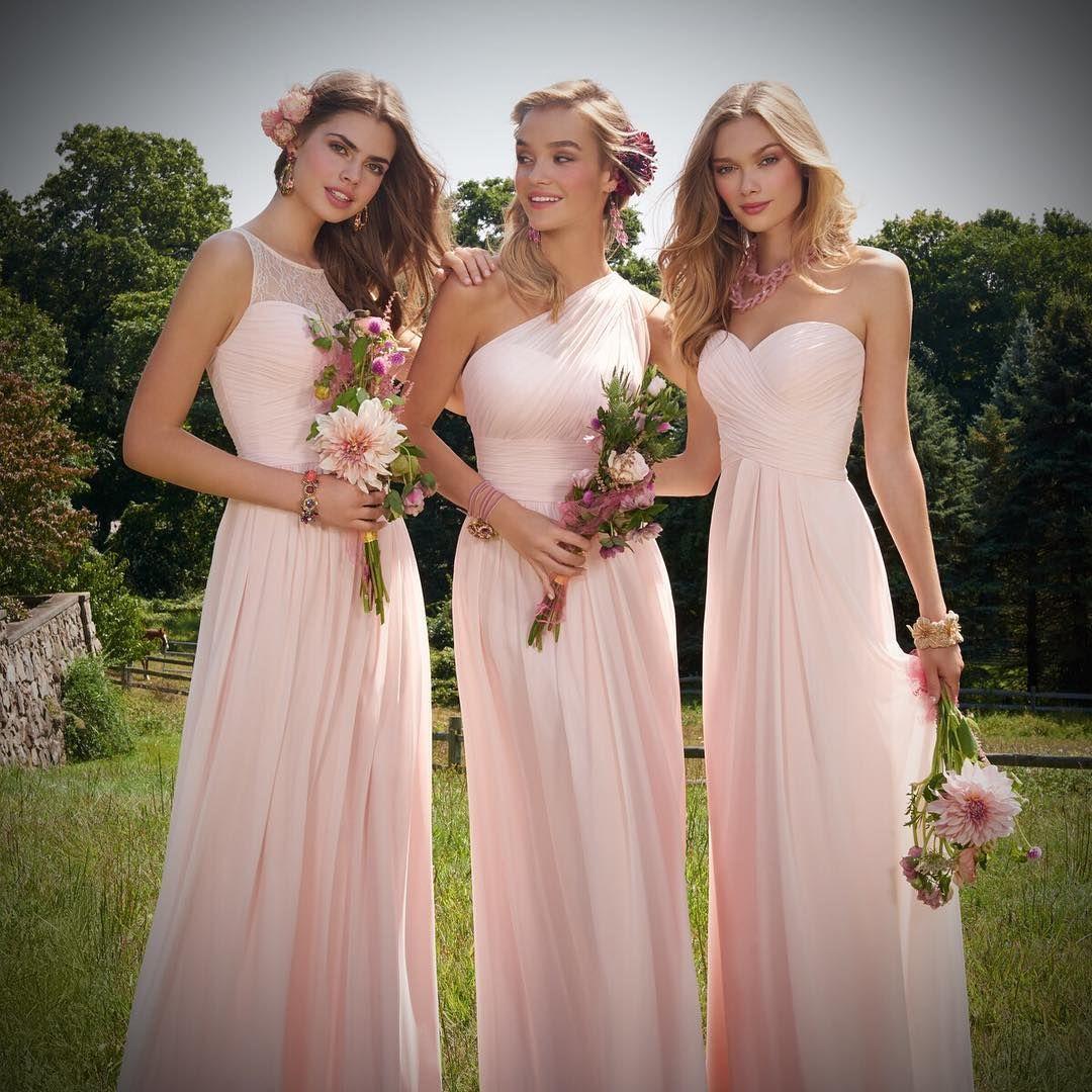Blushin\' bridesmaids in petal pink ✨ #camillelavie | Camille La Vie ...