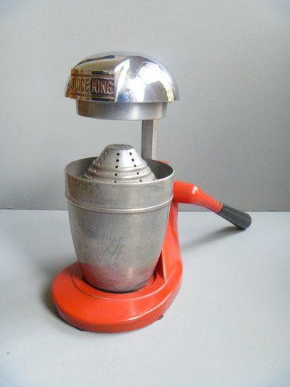 Old National Juice King Citrus Juicer