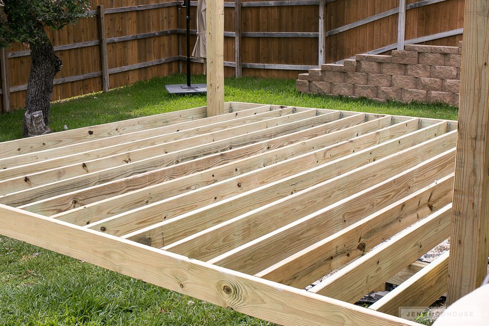 How To Build A Diy Floating Deck With Simpson Strong Tie