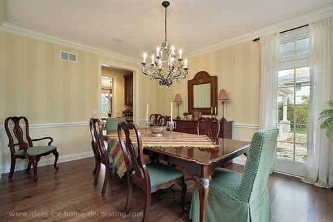 Traditional dining room for the home pinterest for Traditional dining room color ideas