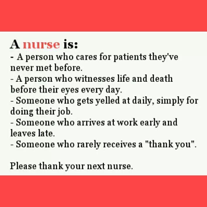 Thank You Nurse ♡